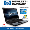 Refurbished HP ProBook 6450b Laptop Notebook / 14 Inch / Intel Core i3 / 2GB RAM / 160GD HDD / Window Vista / One Month Warranty