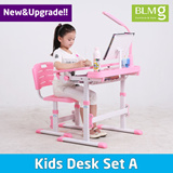 [Singapore Christmas Gift][BLMG_SG] New Kids Desk Set★Singapore★Kids Table★Furniture★Study Desk★table★Fast★Cheap★Local★Lamp