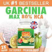 #1 WEIGHT LOSS by Dr Oz! 2016 Best Seller Garcinia MAX Garcinia Cambogia 80% HCA. Lose 1kg in 5 days