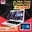 T-bao laptop /TBook X7 WIFI 32G student notebook computer/14.1 inch/Slim body/Chocolate keyboard/Intel quad core processor/WIN 10 system/Gaming PC/Daily working/Perfect running multi-tasking【M18】