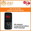 LATEST. SG INO CP 3G BASIC SENIOR CITIZEN PHONE. 1 YEAR WARRANTY.