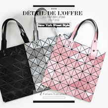★BUY 2 FREE SHIPPING★New Style Folding Geometric Laser Bags Handbag/Tote bag/Shoulder Bag/Backpack/Star bags/Laptop bag/Clutch/School Bag/Sling bags/Document Diamond Lattice Series Bags Leather Bag