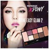 [MEMEBOXxPONY]★Shine Easy Glam Eyeshadow Palette (8 Colors)★MEGA HIT★KOREA BLOGGER PONY