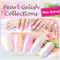 ★NEW! Pearl Gelish Collections! ★ Gelish Gel Nail Polish Over 500 Colors! ★ Long Wear Long lasting up to 30 days with proper application! ★ Crown Gelish Salon Top Grade Quality Results!★