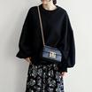 [送料無料]★韓国ファッション通販業界1位 『Naning9』★ディドルパフスリーブマンツーマン/ おしゃれなシルエットのファッションコーデー提案!ハイクォリティー/韓国ファッション/オフィスルック