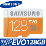 [SAMSUNG Authentic 128GB with Adapter] SAMSUNG Micro SDXC EVO 128GB CLASS10 T-Falsh Memory SD Card 2015ver.