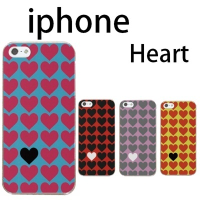 特殊印刷/iPhone6 Plus/iphone6(4.7インチ)/iPhone5/iPhone5S /iphone5C(ハート・Heart)CCC-104の画像