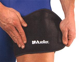 ミューラー (Mueller) アジャスタブル サイグローインサポート 54917 [分類:サポーター もも専用]の画像