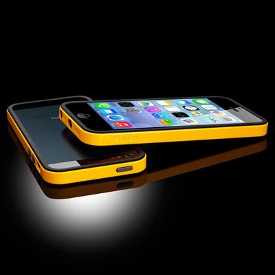 SPIGEN【iPhone 5s / 5 ケース】ネオ・ハイブリッド EX  ヴィヴィッドシリーズ[レベントン・イエロー]ケース・フィルムセットの画像