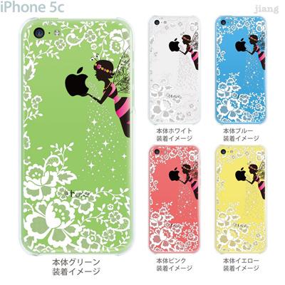 【iPhone5c】【iPhone5c ケース】【iPhone5c カバー】【ディズニー】【iPhone 5c ケース】【クリア カバー】【スマホケース】【クリアケース】【イラスト】【クリアーアーツ】【りんごと妖精】 01-ip5c-zec024の画像