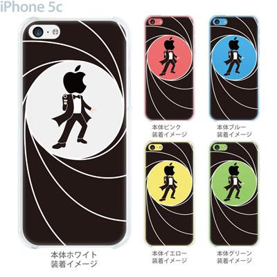 【iPhone5c】【iPhone5c ケース】【iPhone5c カバー】【ケース】【カバー】【スマホケース】【クリアケース】【クリアーアーツ】【MOVIE PARODY】【スパイ】 10-ip5c-ca0032の画像