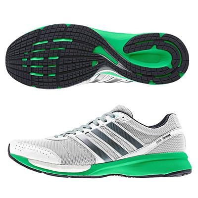 アディダス (adidas) adizero CS boost Wide(グリーンアース×コアブラック×ランニングホワイト) B22907 [分類:陸上競技 レーシングシューズ・マラソンシューズ (メンズ)] 送料無料の画像