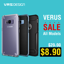 [1Day Flat Price $8.9] VERUS Samsung S8/Plus/S7/Edge/A5 2017/iPhone 7/6s/Plus Case Collection