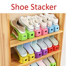 ★Shoe Stacker★ Organizer Cabinet Space Saving Convenient★
