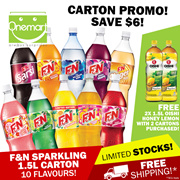 FNN • CARTON SALES • SAVE $6 • FREE 2 x GREEN TEA • 10 FLAVOURS TO CHOOSE FROM!
