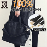 GSS SALE,FREE SHIPING,100% COW LEATHER! ON SALE!!PREFERENCE!!!Womens handbags/high quality shoulder bags/ large capacity/simple solid color 【M18】DLH33