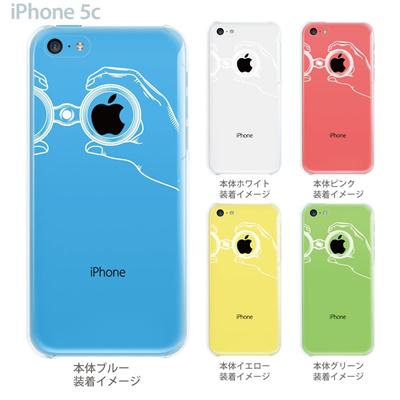 【iPhone5c】【iPhone5c ケース】【iPhone5c カバー】【ケース】【カバー】【スマホケース】【クリアケース】【クリアーアーツ】【望遠鏡】 06-ip5cp-ca0001の画像