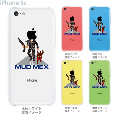 【iPhone5c】【iPhone5c ケース】【iPhone5c カバー】【ケース】【カバー】【スマホケース】【クリアケース】【クリアーアーツ】【MOVIE PARODY】【MOD MEX】 10-ip5c-ca0050の画像