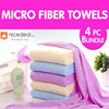 BUY 3 GET 1 FREE!! Microfiber Towel durable lint-free high water absorption super soft  comfortable