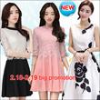【18/2】Korean  dress/Long sleeve Sleeveless Short sleeve dresses/Occupation/Casual/chiffon/lace/suit