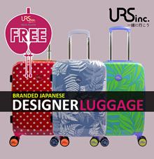 *NEW ARRIVAL* Branded Japanese Designer Luggage
