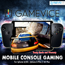 New Gamevice Controller for iPhone 6 / 6s | iPhone 6 Plus / 6S Plus | Ipad Mini. Local Ready Stocks and Warranty. Act as Power bank too! Play as you charge!