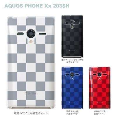 【AQUOS PHONEケース】【203SH】【Soft Bank】【カバー】【スマホケース】【クリアケース】【ボックス】 06-203sh-ca0021aの画像