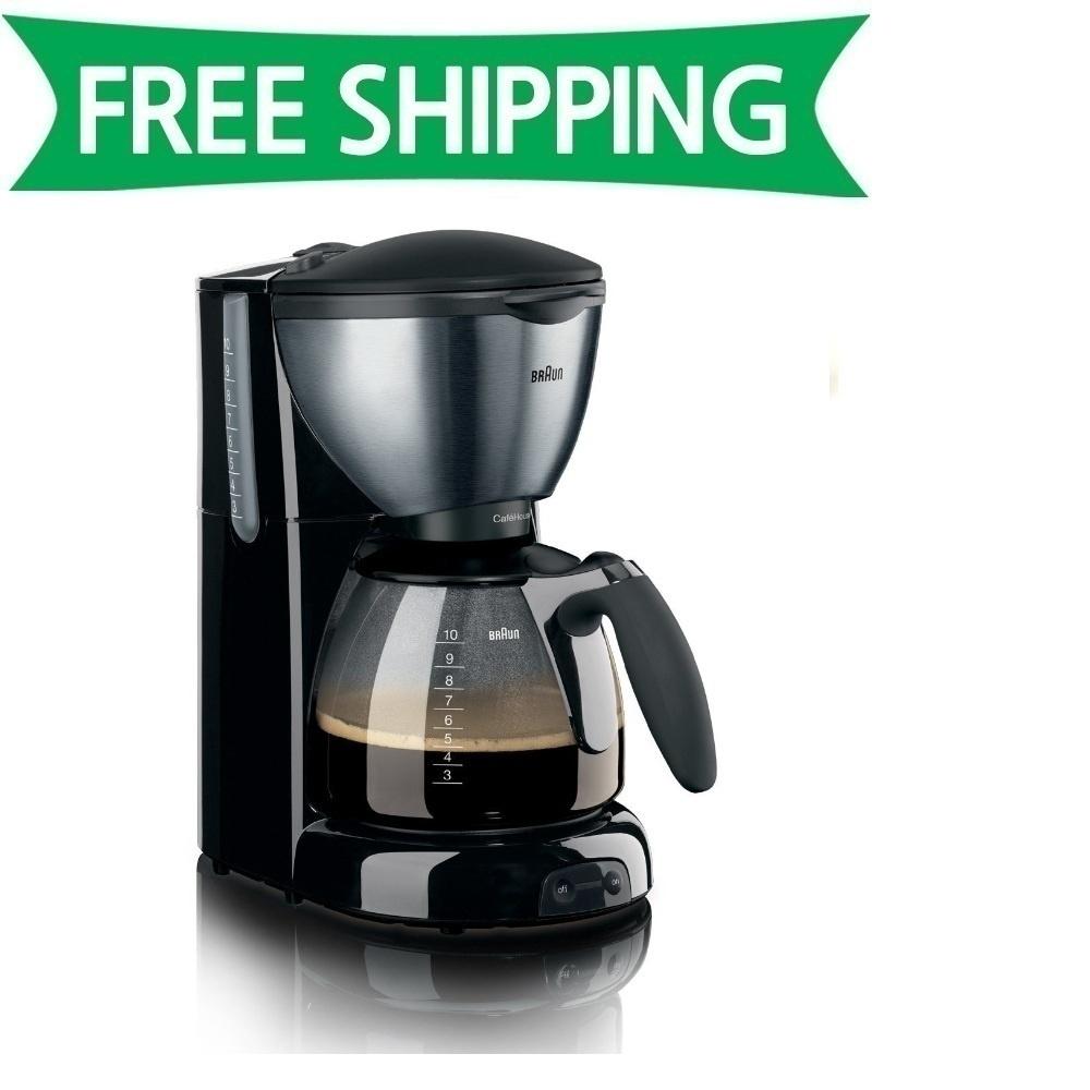 Braun Coffee Maker Official Website : Qoo10 - Braun KF-570 Coffee Maker 10 Cup 1100W KF570 /GENUINE : Home Electronics