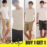 BUY 1 GET 1 FREE + FREE SHIPPING Min Purchase 200K - [COUP] KOREAN BRAND / MEN SHORT PANT