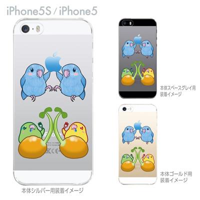 【iPhone5S】【iPhone5】【まゆイヌ】【Clear Arts】【iPhone5ケース】【カバー】【スマホケース】【クリアケース】【マメルリハインコ】 26-ip5s-md0037の画像