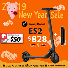 🍊CNY SALE🍊Segway ES2 Escooter➕External Battery✦💯OFFICIAL DISTRIBUTOR✦UL2272 Certified ✅