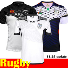 2016-17men rugby jersey/New Zealand Super Rugby League.Chiefs/Hurricanes/Crusaders/Highlanders/New Zealand All Black/France/ Japan/ England/ Italy/ South Africa/Australia /Rugby Jersey
