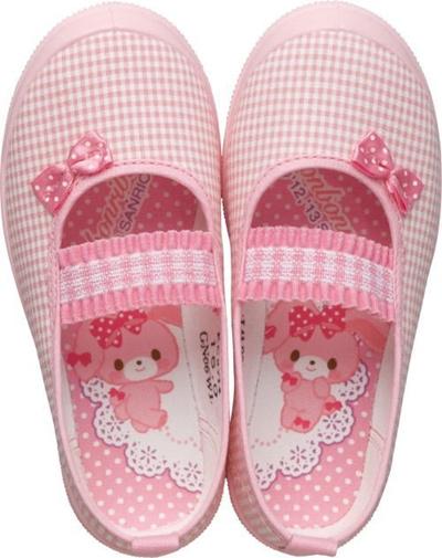 (A倉庫)ボンボンリボン S01 スクールシューズ 上履き キャラクター キッズ 上靴 バレーシューズ B/O S01の画像