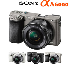 [Sony Alpha A6000] 24.3 Mega Pixel ★16-50mm PZ Lens Kit★ Mirrorless Digital Camera / 4-Color