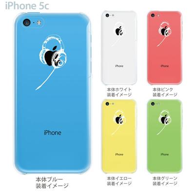 【iPhone5c】【iPhone5c ケース】【iPhone5c カバー】【ケース】【カバー】【スマホケース】【クリアケース】【クリアーアーツ】【ヘッドホン】 06-ip5cp-ca0002の画像