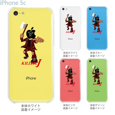 【iPhone5c】【iPhone5c ケース】【iPhone5c カバー】【ケース】【カバー】【スマホケース】【クリアケース】【クリアーアーツ】【MOVIE PARODY】【KILLER.J】 10-ip5c-ca0054の画像