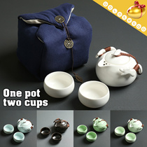 ▶New KungFu Chinese Tea Set◀GDA-GongFu Tea cup Set/Gift Set/Chinese Tradition/Tea pot/Two Cups