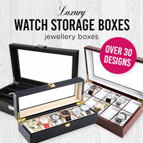 ★[MEGA SALE]5/6/8/10/12/20/24 Slots Watch Storage Box/Jewelry Box/Crocodile Skin Watch Box/Luxury Watch Case/PVC Watch Storage Box /Luxury Watch case/Watch Storage Box/Watches/Watch Box