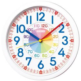 SEIKO CLOCK (セイコークロック) 知育掛時計(白) KX617W