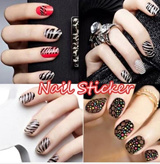 3D Nail Sticker / Nail foil / Nail Patch / Diamond Sticker /  Korean French Nail art