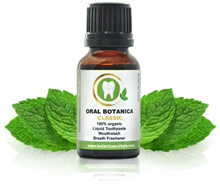 Oral Botanica Classic 3-in-1 organic liquid toothpaste mouthwash and breath freshener