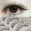[HYEMI SHOP]♥Taiwan Handmade Fake Lashes. 10 Pairs Instant Long Lashes. Naturally Looks. Fake Lashes. 10 Pairs In A Box. Cheapest Price Here! Can Be Use A Numerous Times Per Pairs. Beautiful Big Eyes.