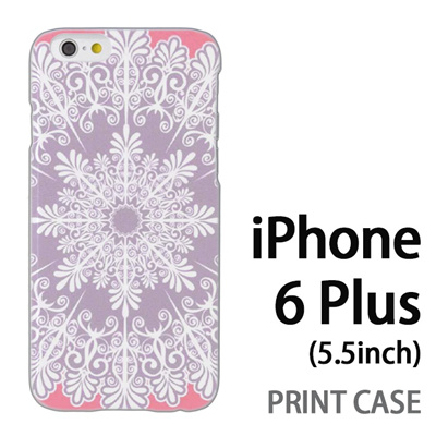 iPhone6 Plus (5.5インチ) 用『1216 結晶 白』特殊印刷ケース【 iphone6 plus iphone アイフォン アイフォン6 プラス au docomo softbank Apple ケース プリント カバー スマホケース スマホカバー 】の画像