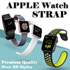 💋💋Hot stuff💋💋For Apple Watch Band Strap Genuine Cowhide Leather Single+Double Loop+Bracelet Genuine Leather Loop Watch Band Strap Magnetic Buckle For Apple Watch 38mm/42mm fitbit watch23mm band