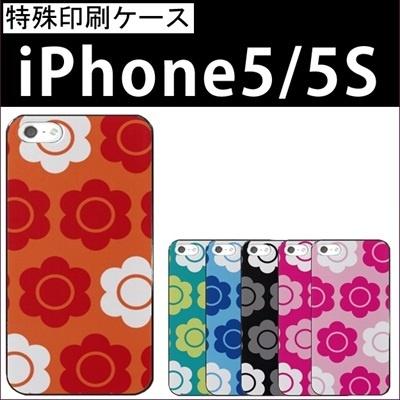特殊印刷/iPhone6 Plus/iphone6(4.7インチ)/iphone5/iphone5S/iphone5C/(マリクワ風花柄)CCC-064【スマホケース/ハードケース/カバー】の画像