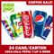 [Carton of 24] ***Lowest Price!***◄ CAN DRINKS ► COKE/COKE LIGHT/7-UP/SEASONS Ice Lemon Tea/PEPSI/100 PLUS/RIBENA Lightly Sparkling/RED BULL