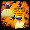 【送料無料】ハロウィン 衣装 子供 コスプレ 白雪姫 ドレス 仮装 女の子 キッズ 女児 ハロウィーン 変装グッズ パーティー ステージ イベント用品 ハロウイン 可愛い 子ども用 halloween party cos