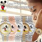 [WALT DISNEY] ♥COUPLE ITEMS♥Original Disney Watch Men Women Wristwatch/♥Mickey mouse♥/free shipping/best collection!!