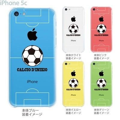 【iPhone5c】【iPhone5c ケース】【iPhone5c カバー】【iPhone カバー】【クリア ケース】【スマホケース】【クリアケース】【イラスト】【クリアーアーツ】【サッカー】 10-ip5c-ca0058の画像
