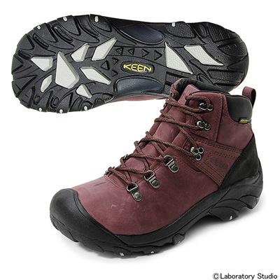 キーン (KEEN) MEN PYRENEES(ピレネー) ブラック×シナモン 1012077 [分類:登山靴 (メンズ)] 送料無料の画像